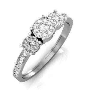 Buy Avsar Real Gold And Swarovski Stone Kashmir Ring Intr035wb online