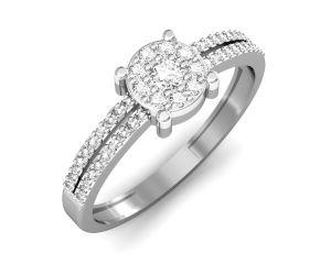 Buy Avsar Real Gold And Swarovski Stone Jammu Ring Intr038wb online