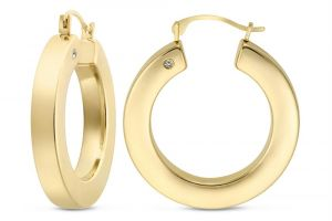Buy Kiara Yellow Gold Plated Earring online