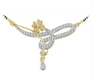 Buy Kiara American Diamond Mangalsutra Kim0016 online