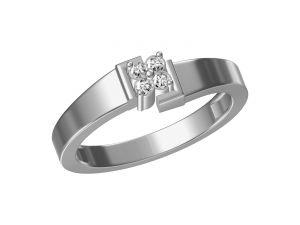 Buy Kiara Sterling Silver Jayshri Ring Kgr059w online