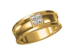Buy Kiara Sterling Silver Prachi Ring Kgr309y online