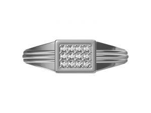 Buy Kiara Sterling Silver Shravani Ring Kgr313w online