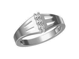 Buy Kiara Sterling Silver Hansa Ring Kgr320w online