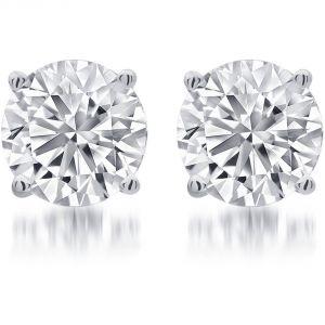 Buy Kiara Swarovski Signity Sterling Silver Rekha Earring Kie0443 online