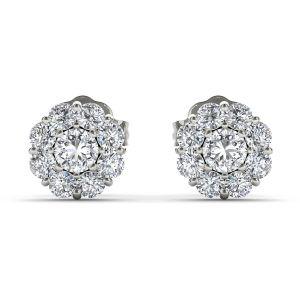 Buy Kiara Swarovski Signity Sterling Silver Sakshi Earring Kie0448 online