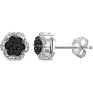 Buy Kiara Swarovski Signity Sterling Silver Kamini Earring Kie0459 online