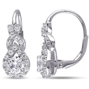 Buy Kiara Swarovski Signity Sterling Silver Priyanka Earring Kie0468 online