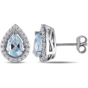 Buy Kiara Swarovski Signity Sterling Silver Sonali Earring Kie0478 online