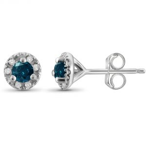 Buy Kiara Swarovski Signity Sterling Silver Pranita Earring Kie0484 online