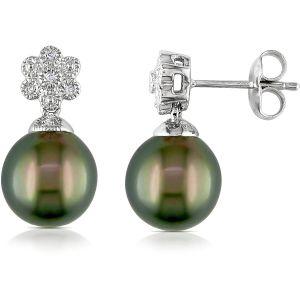 Buy Kiara Swarovski Signity Sterling Silver Kajol Earring online