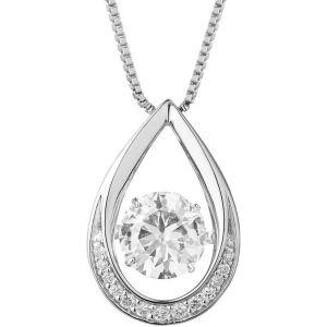 Buy Kiara Swarovski Signity Sterling Silver Runali Pendant Kip0477 online
