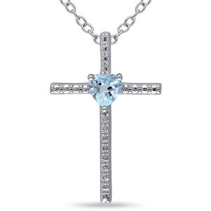 Buy Kiara Swarovski Signity Sterling Silver Tamilnadu Pendant online