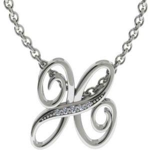 Buy Kiara Swarovski Signity Sterling Silver Samita Pendant online