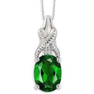 Buy Kiara Swarovski Signity Sterling Silver Pranali Pendant Kip0566 online