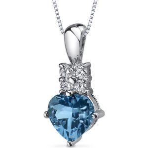 Buy Kiara Swarovski Signity Sterling Silver Aarti Pendant Kip0594 online