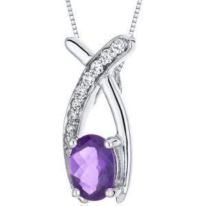 Buy Kiara Swarovski Signity Sterling Silver Poonam Pendant Kip0595 online