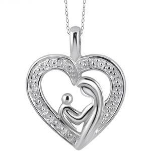 Buy Kiara Swarovski Signity Sterling Silver Bavari Pendant online