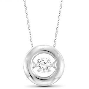 Buy Kiara Swarovski Signity Sterling Silver Radha Pendant Kip0604 online