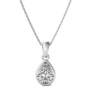 Buy Kiara Sterling Silver Naina Pendant online