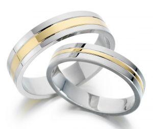 Buy Kiara Jewellery Sterling Silver Swarovski Zirconia Couple Ring Kir0258 online