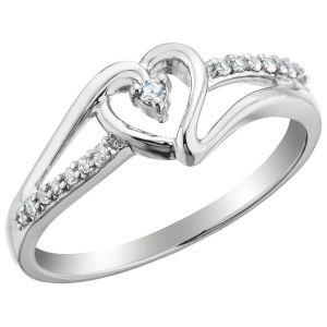 Buy Kiara Sterling Silver Ring Made With Swarovski Zirconia # Kir0313 online