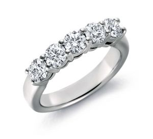 Buy Kiara Sterling Silver Ring made with Cubic Zirconia Stone online