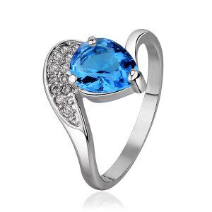 Buy Kiara Sterling Silver Ring made with Swarovski Zirconia online