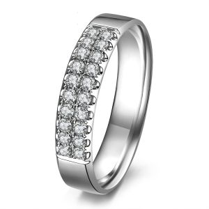 Buy Kiara Sterling Silver Ring Made With Swarovski Zirconia Kir0505 online