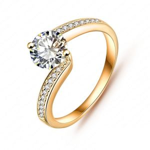 Buy Kiara Sterling Silver Ring made with Swarovski Zirconia online