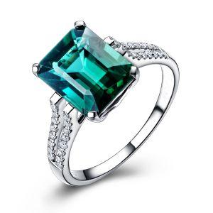 Buy Kiara Sterling Silver Ring Made With Swarovski Zirconia Kir0519 online