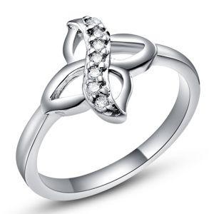 Buy Kiara Sterling Silver Ring Made With Swarovski Zirconia Kir0520 online