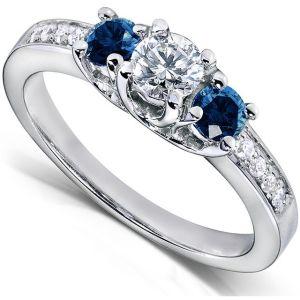 Buy Kiara Swarovski Signity Sterling Silver Nandita Ring Kir0696 online