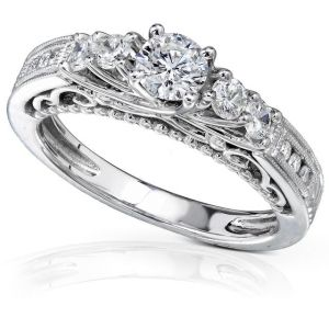 Buy Kiara Swarovski Signity Sterling Silver Swara Ring Kir0697 online