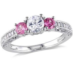 Buy Kiara Swarovski Signity Sterling Silver Divya Ring Kir0748 online