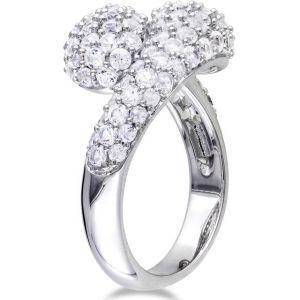 Buy Kiara Swarovski Signity Sterling Silver Sneha Ring Kir0752 online
