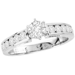 Buy Kiara Swarovski Signity Sterling Silver Anushka Ring Kir0761 online
