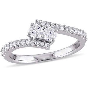 Buy Kiara Swarovski Signity Sterling Silver Kalyan Ring Kir0768 online