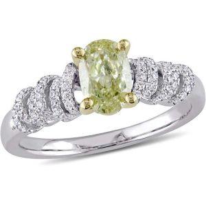 Buy Kiara Swarovski Signity Sterling Silver Naina Ring Kir0769 online