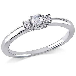 Buy Kiara Swarovski Signity Sterling Silver Kinjal Ring Kir0789 online