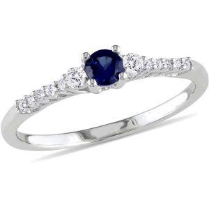 Buy Kiara Swarovski Signity Sterling Silver Divya Ring Kir0815 online