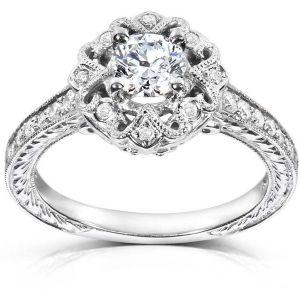 Buy Kiara Swarovski Signity Sterling Silver Purva Ring Kir0825 online