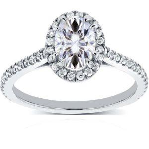 Buy Kiara Swarovski Signity Sterling Silver Pooja Ring Kir0829 online