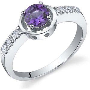Buy Kiara Swarovski Signity Sterling Silver Swapanali Ring online