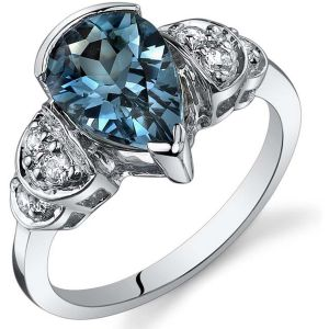 Buy Kiara Swarovski Signity Sterling Silver Gujarat Ring online