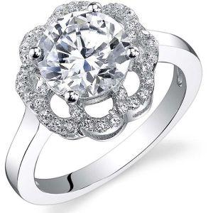 Buy Kiara Swarovski Signity Sterling Silver Swara Ring Kir0891 online