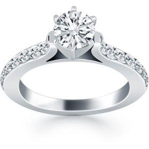 Buy Kiara Swarovski Signity Sterling Silver Renuka Ring Kir0918 online