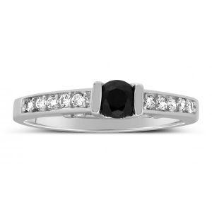 Buy Kiara Swarovski Signity Sterling Silver Parthavi Ring Kir1333 online