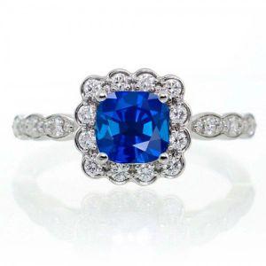 Buy Kiara Swarovski Signity Sterling Silver Reshama Ring Kir1336 online