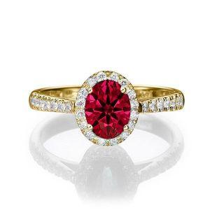 Buy Kiara Swarovski Signity Sterling Silver Swati Ring online